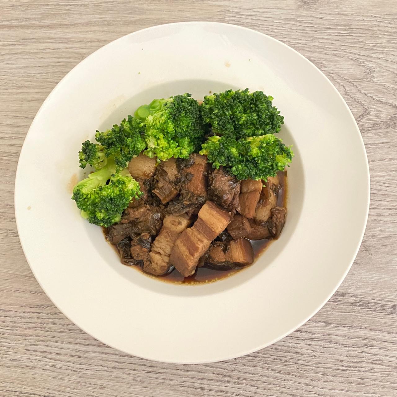 【料理包】厝內味~吃飯啦 屬於客庄的風味-客庄梅干扣肉