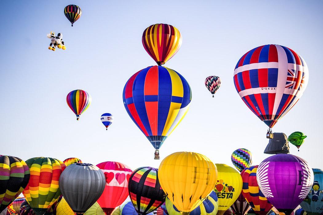 10月3日 世界熱氣球盛會暨印第安國度心靈之旅 8天(舊金山下車)