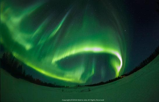 費爾班克斯 北極光觀測木屋