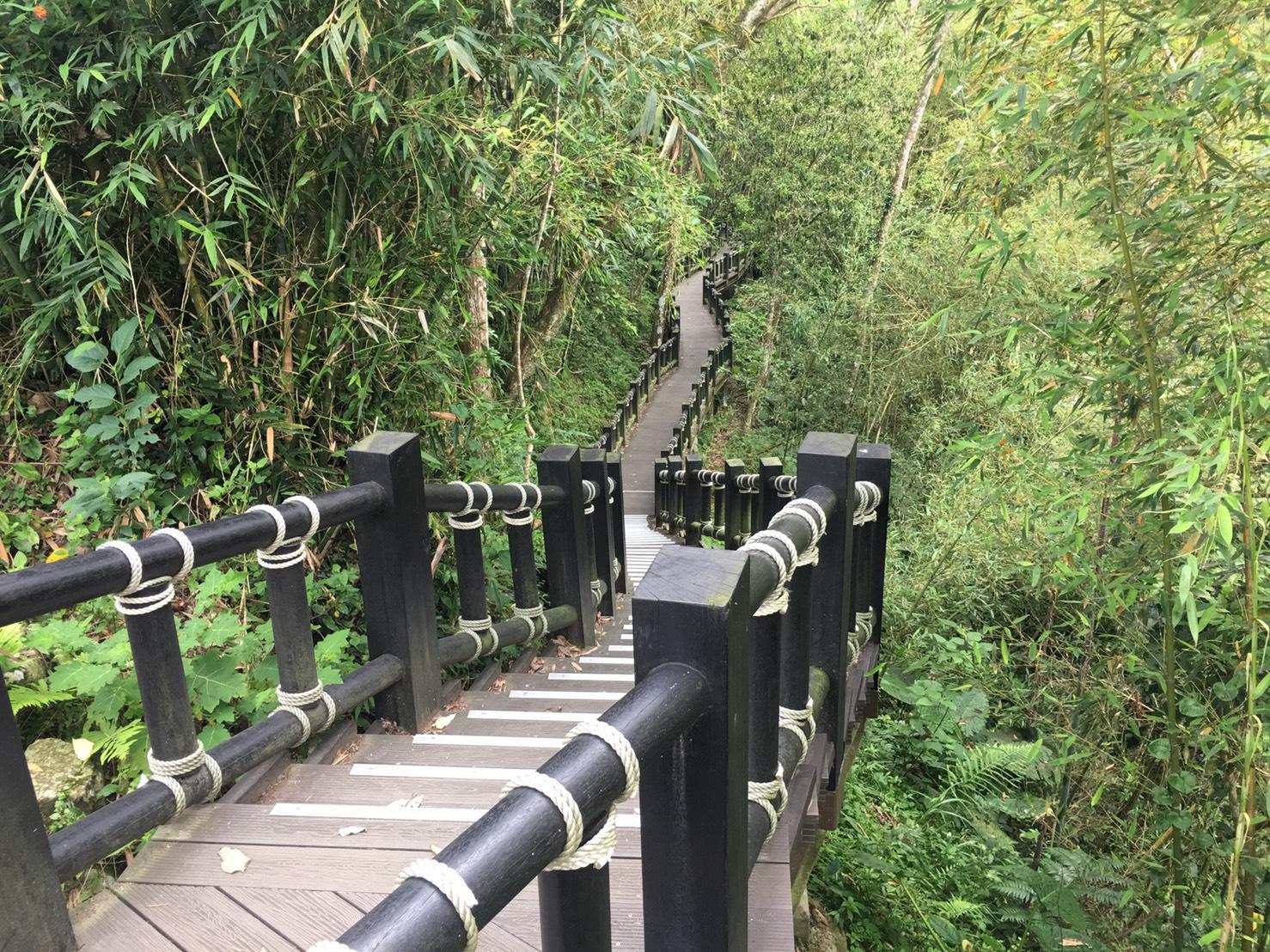蓬萊生態園區護魚步道