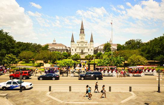 德路《雙州》+ 新奧爾良六城8天全景遊