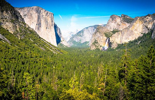 Yosemite National Park, Pinnacles National Park