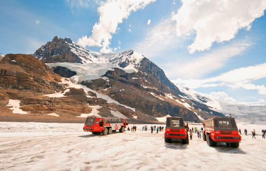 9日 加拿大洛磯山脈, 美國冰河公園之旅